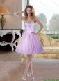 2015 Exclusive Beading and Appliques Sweetheart Prom Dress