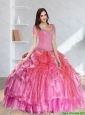 Perfect Beading Quinceanera Dresses in Multi Color for 2015