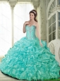 Beautiful Ball Gown Quinceanera Dresses with Beading for 2015 Summer