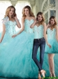 New Arrival Ball Gown Sweetheart Beading Quinceanera Dresses For 2015 Summer
