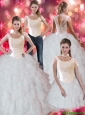 Perfect Ruffles and Beaded Quinceanera Dresses For 2015 Fall