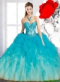 New Arrival Sweetheart Quinceanera Dresses in Multi Color for 2015 Summer