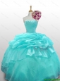 2015 Elegant Quinceanera Dresses with Paillette and Ruffled Layers