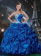 2016 Latest Pick Ups Sweetheart Quinceanera Dresses with Beading