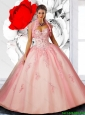 2016 Pretty Sweetheart Quinceanera Dresses with Beading and Appliques
