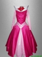 Exclusive A Line Off the Shoulder Sweet 16 Dresses in Hot Pink