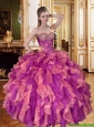 Beautiful Sweetheart Quinceanera Dresses with Beading and Ruffles