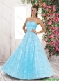 2016 Spring Discount A Line Laced and Beaded Prom Dresses in Tulle