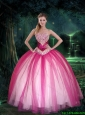 2016 Gorgeous Sweetheart Quinceanera Dresses with Sequins and Beading