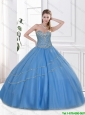 Hot Sale 2016 Ball Gown Sweetheart Quinceanera Dresses in Tulle