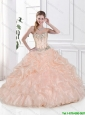 Discount Beaded Sweetheart Quinceanera Dresses with Pick Ups