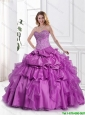New Style Appliques and Beaded Quinceanera Gowns with Sweetheart