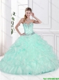 2016 Best Selling Beaded Quinceanera Dresses with Pick Ups
