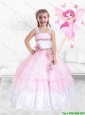 Fashionable Hand Made Flowers  Mini Quinceanera  Dresses with Beading