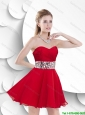 Gorgeous Exclusive Gorgeous Sweetheart Prom Gowns with Beading and Ruching