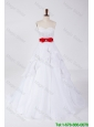 Classical Beading and Bowknot Wedding Dresses with Brush Train