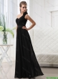 Junior Empire One Shoulder Prom Dresses with Belt