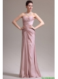 New Arrivals Column Sweetheart Prom Dresses with Ruching for 2016