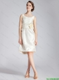 New Arrivals  Hand Made Flowers Prom Dresses in White