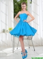 2016 Summer A Line Sweetheart Prom Dress in Baby Blue