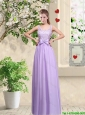 Beautiful Scoop Prom Dresses with Lace and Bowknot