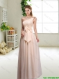Discount One Shoulder Prom Dresses in Champagne