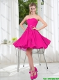 Custom Made Sweetheart Short Prom Dress with Bowknot