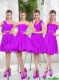 Pretty Sweetheart Beading Short Prom Dresses in Purple
