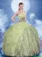 Cheap Sweetheart Quinceanera Dresses with Beading and Sequins