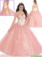 Exquisite 2016 Appliques Quinceanera Dresses with Beading