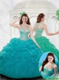 Latest Ball Gown Bateau Ruffles Quinceanera Dresses with Beading