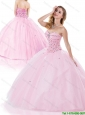 Perfect Baby Pink Quinceanera Dresses with Beading