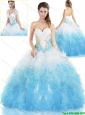 Gorgeous Sweetheart Quinceanera Dresses with Beading and Ruffles