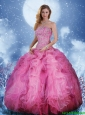 Perfect Strapless Ruffles Quinceanera Dresses in Multi Color 219.08