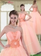Beautiful Appliques and Beading Quinceanera Dresses with Sweetheart