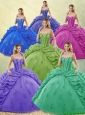 Exquisite Beading and Appliques Quinceanera Dresses for 2016 Spring
