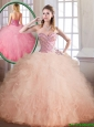Luxurious Floor Length Sweet 16 Dresses with Ball Gown