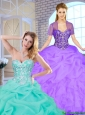 New Arrivals 2016 Sweetheart Quinceanera Gowns with Beading