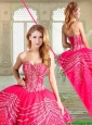 Gorgeous Floor Length Sweet 16 Dresses with Beading and Appliques