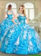 Pretty Sweetheart Sweet 16 Dresses with Paillette and Ruffles