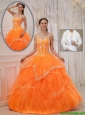 New Arrival Ball Gown Sweet 15 Dresses with Appliques and Beading