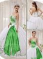 New Arrival Ball Gown Sweetheart Quinceanera Dresses with Embroidery