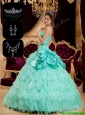 New Arrival Strapless Quinceanera Gowns with Pick Ups and Ruffles