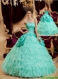Pretty Selling Ball Gown Floor Length Ruffles Quinceanera Dresses