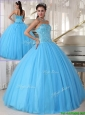 Pretty Sweetheart Ball Gown Beading Sweet 16 Dresses