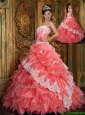 Discount Ball Gown Floor Length Ruffles Quinceanera Dresses