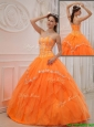 Discount Ball Gown Sweetheart Appliques Quinceanera Dresses