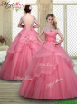 Elegant Backless Quinceanera Dresses with Beading and Hand Made Flowers