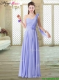 Beautiful One Shoulder Floor Length Bridesmaid Dresses for Spring