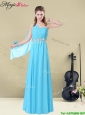 Inexpensive Floor-length One Shoulder Elegant Bridesmaid Dresses